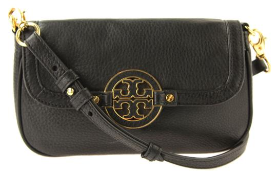 Preload https://item1.tradesy.com/images/tory-burch-amanda-mini-black-leather-cross-body-bag-24049725-0-0.jpg?width=440&height=440
