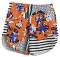 Clover Canyon Print Summer Night Out Spring Date Night Dress Shorts ORANGE/ BLACK/ PURPLE/ WHITE