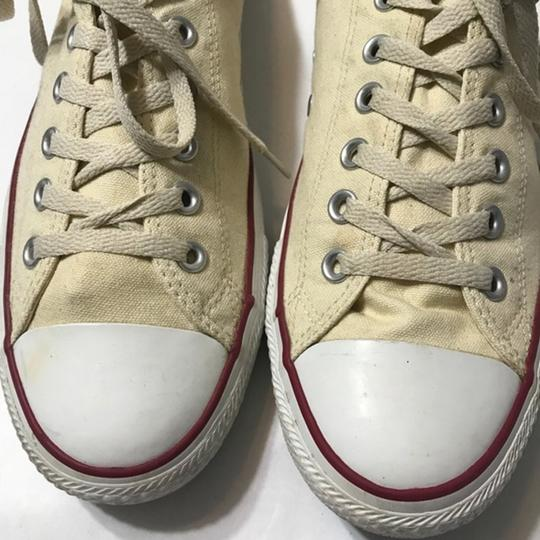 Converse Lace-up Cream Athletic