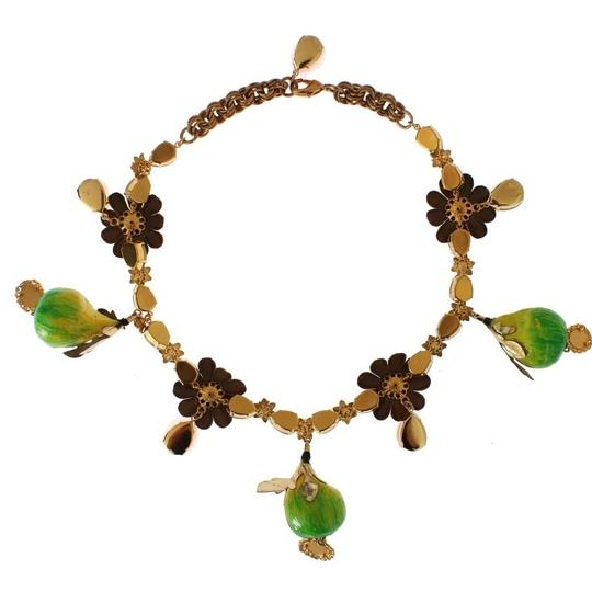 Preload https://img-static.tradesy.com/item/24049747/dolce-and-gabbana-gold-d19591-women-s-fig-fruit-sicily-crystal-necklace-0-0-540-540.jpg