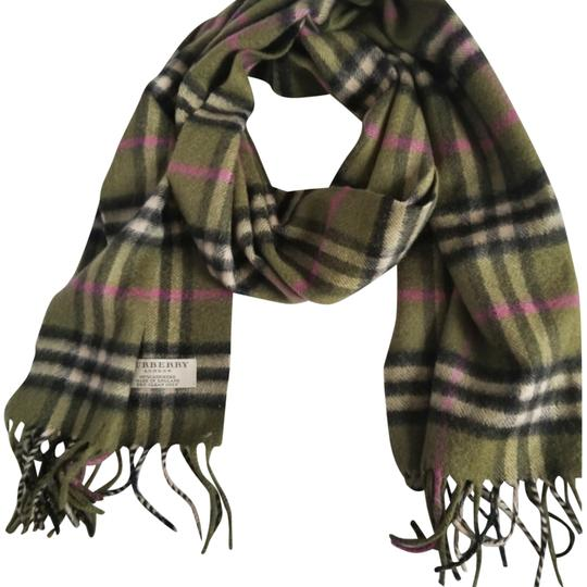 Preload https://item2.tradesy.com/images/burberry-london-green-pink-nova-check-cashmere-scarfwrap-24049776-0-2.jpg?width=440&height=440