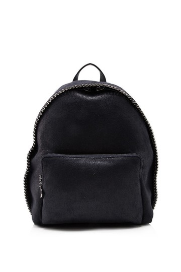 Preload https://item1.tradesy.com/images/stella-mccartney-falabella-shaggy-deer-mini-blue-faux-leather-backpack-24049800-0-0.jpg?width=440&height=440