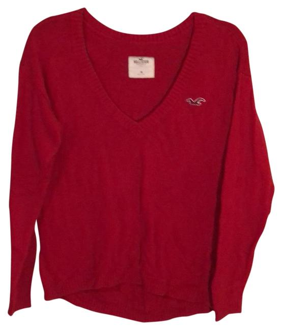 Preload https://img-static.tradesy.com/item/24049801/hollister-red-sweaterpullover-size-8-m-0-1-650-650.jpg