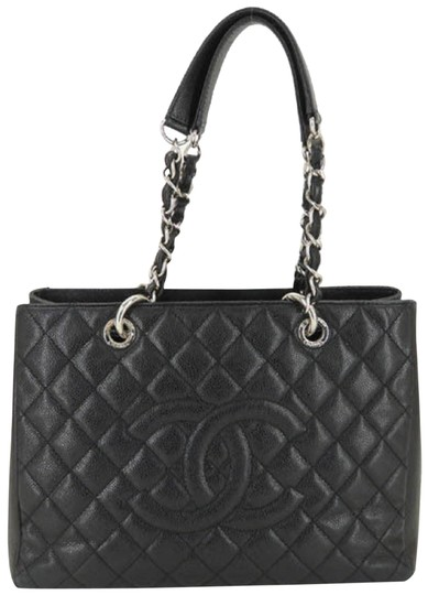 Preload https://item5.tradesy.com/images/chanel-shopping-excellent-cc-caviar-skin-chain-tote-black-leather-shoulder-bag-24049809-0-1.jpg?width=440&height=440