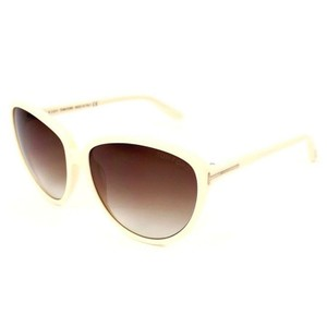 0343a323fd Tom Ford Cat Eye Style Women s TF203 25F Brown Gradient Lens Sunglasses