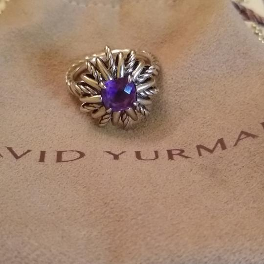David Yurman Amethyst Starburst Ring