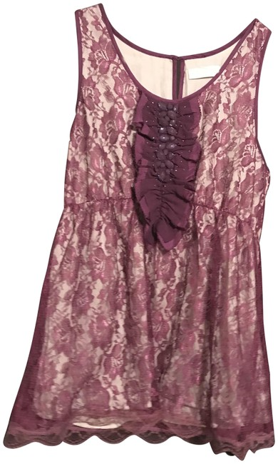 Preload https://item1.tradesy.com/images/mm-couture-purple-m-blouse-size-12-l-24049850-0-1.jpg?width=400&height=650