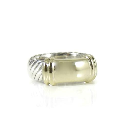 Preload https://item4.tradesy.com/images/david-yurman-silver-gold-sterling-14k-yellow-wide-metro-band-ring-24049853-0-0.jpg?width=440&height=440