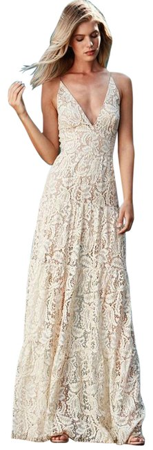Preload https://img-static.tradesy.com/item/24049854/dress-the-population-ivory-lace-maxi-gown-medium-long-formal-dress-size-8-m-0-1-650-650.jpg