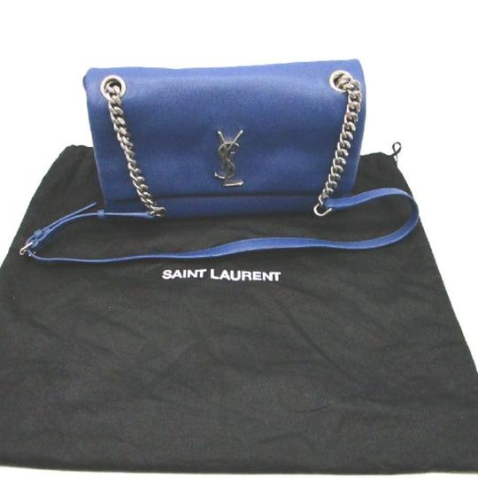 Saint Laurent Monogram Leather Hollywood Shoulder Bag