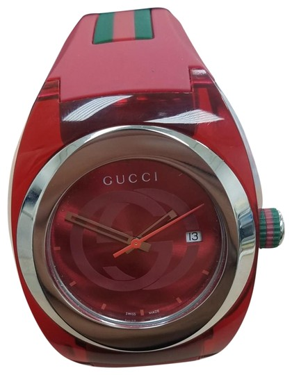 Preload https://item5.tradesy.com/images/gucci-red-sync-watch-24049884-0-3.jpg?width=440&height=440