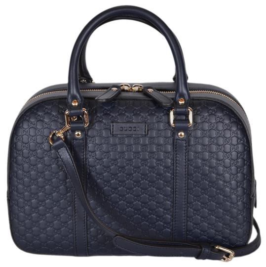 Preload https://item5.tradesy.com/images/gucci-new-women-s-510286-micro-gg-convertible-blue-leather-satchel-24049894-0-0.jpg?width=440&height=440