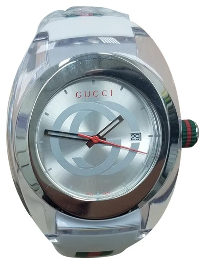 Preload https://item2.tradesy.com/images/gucci-white-sync-watch-24049956-0-1.jpg?width=440&height=440