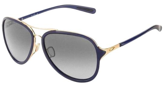 Preload https://item3.tradesy.com/images/oakley-gold-and-navy-aviator-style-unisex-oo4102-03-grey-gradient-lens-sunglasses-24049962-0-1.jpg?width=440&height=440
