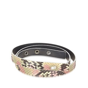 Chanel CHANEL PYTHON LEATHER BELT