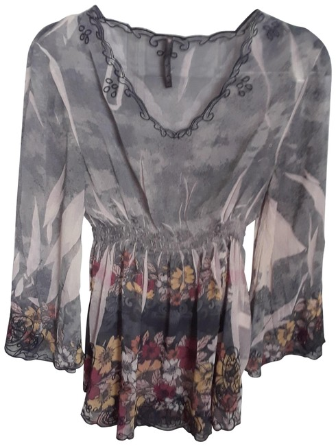 Preload https://img-static.tradesy.com/item/24049986/sienna-rose-multicolor-color-floral-print-embroidered-tunic-size-petite-4-s-0-1-650-650.jpg