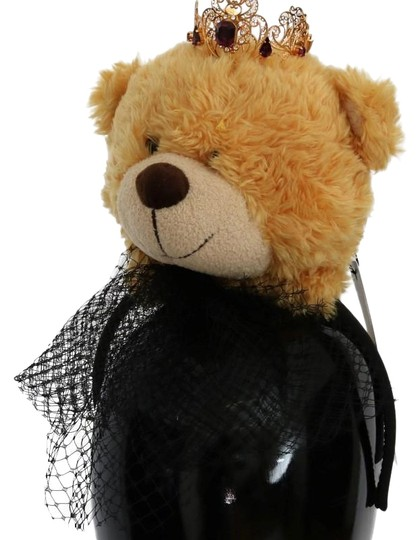 Preload https://item3.tradesy.com/images/dolce-and-gabbana-brown-gold-d116-women-s-teddy-bear-crystal-diadem-hair-accessory-24049987-0-1.jpg?width=440&height=440