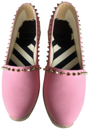 Preload https://item2.tradesy.com/images/christian-louboutin-pink-women-ares-olona-toile-rose-espadrilles-flats-size-eu-35-approx-us-5-regula-24050006-0-1.jpg?width=440&height=440