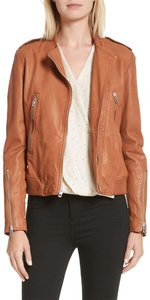 Rag & Bone Moto brown Leather Jacket