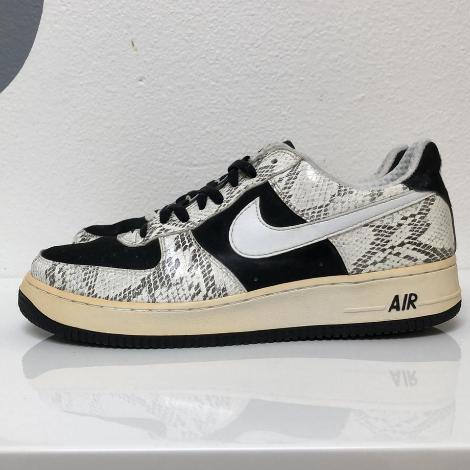 Retail 2008 Us White Snakeskin Force Black RegularmB63Off Size Low Print 11 Nike 1 Sneakers Air True Suede 0kOwPn8