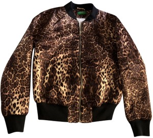 United Colors of Benetton leopard print and black Jacket