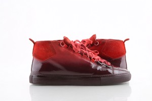 Balenciaga Red High Gradient Ombre Sneakers Athletic Size US 10 Regular (M, B)