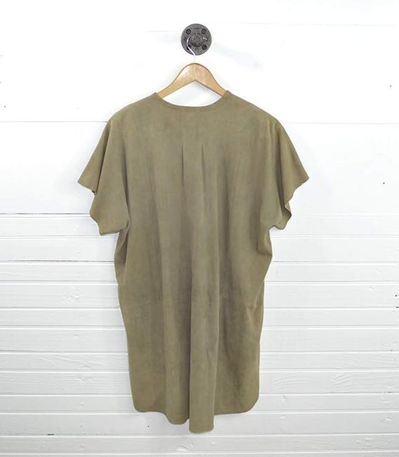 VINCE short dress TAN Leather Suede Fall Spring on Tradesy Image 2