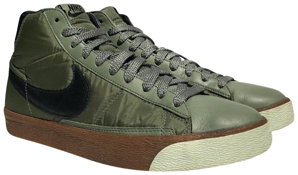 "the best attitude e554f 79526 Nike Urban Haze Black-ice Green Blazer Mid Premium ""tech Pack"" 2007 Sneakers"