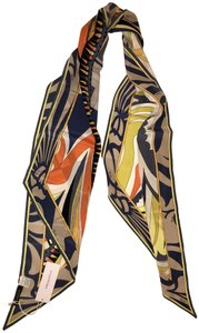 Emilio Pucci beautiful abstract geometric print scarf bandeau new with tag