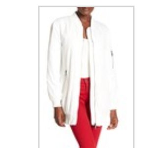 Etienne Marcel New With Tag Bomber White Jacket