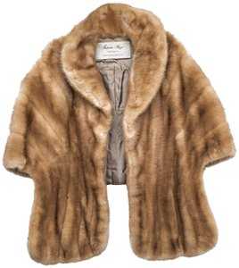 Autumn Haze Vintage Fur Fur Vintage Cute Cape