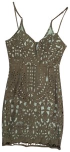Luxxel short dress Camel on Tradesy