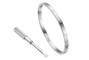 Cartier Cartier LOVE Bracelet, Small in White Gold