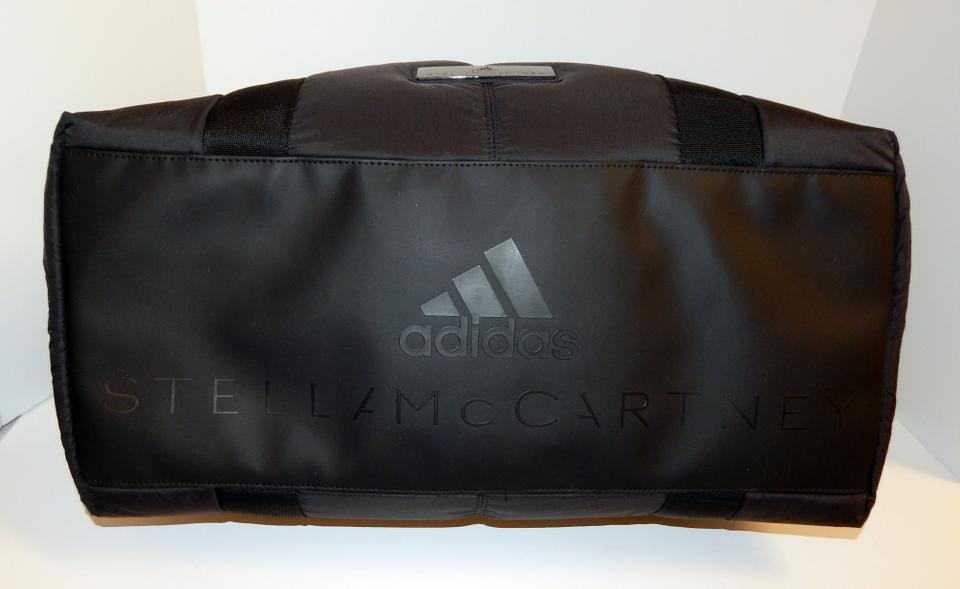 adidas By Stella McCartney Nylon Duffel Tote Black Travel Bag. 123456789 73f6c63a6dac4