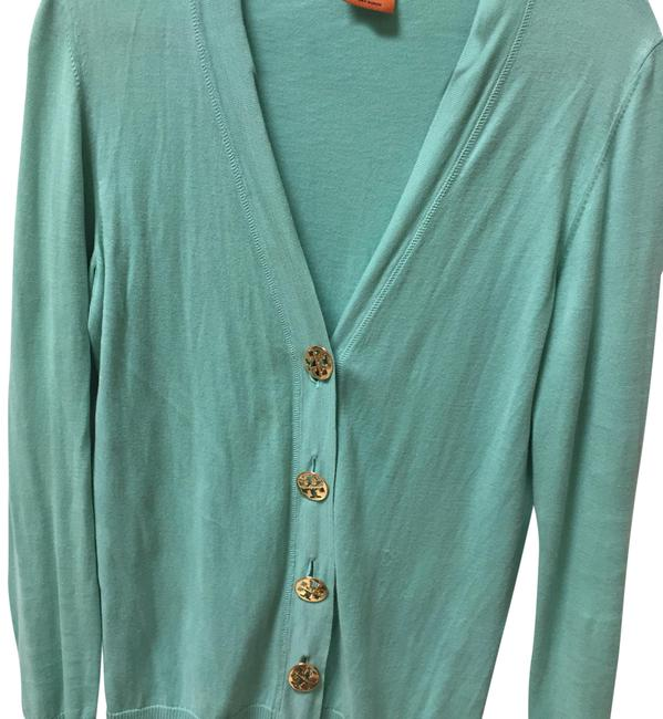 Item - Green Cotton Cardigan Size OS (one size)