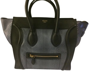 Celine Tote in Blue and black