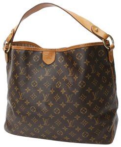 7c5fbbf40749 Louis Vuitton Lv Monogram Delightful Pm Canvas Hobo Bag
