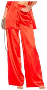 House of Harlow 1960 Wide Leg Pants red