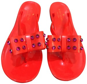 Kate Spade Red/Purple Sandals