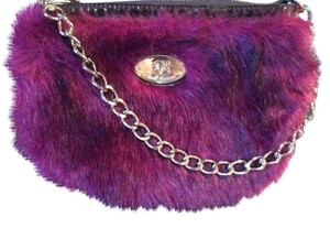 Other Purse Gold Furry Gold Chain Sharif Shoulder Bag