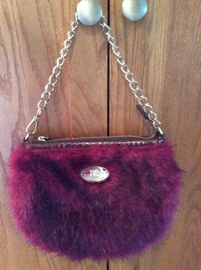 Other Purse Gold Furry Gold Chain Sharif Shoulder Bag Image 2
