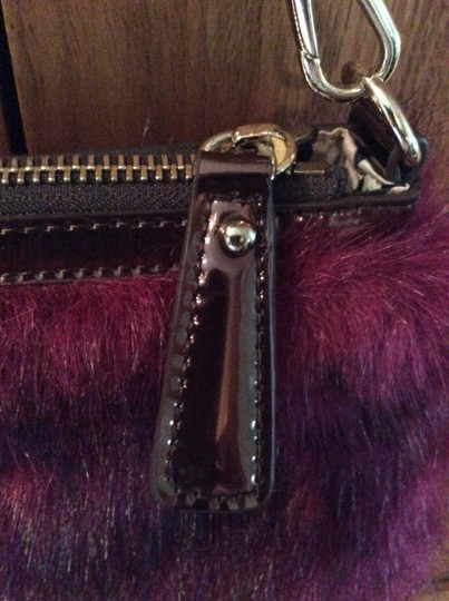 Other Purse Gold Furry Gold Chain Sharif Shoulder Bag Image 4