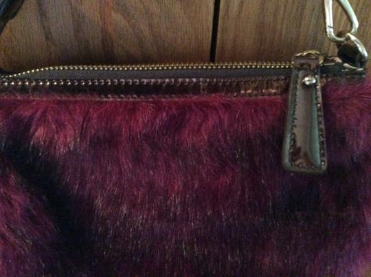 Other Purse Gold Furry Gold Chain Sharif Shoulder Bag Image 5
