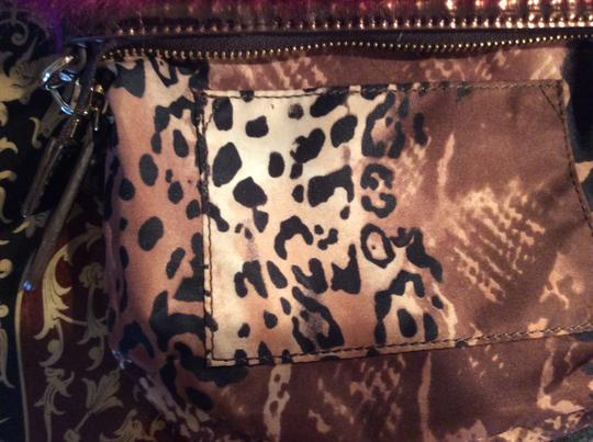 Other Purse Gold Furry Gold Chain Sharif Shoulder Bag Image 8