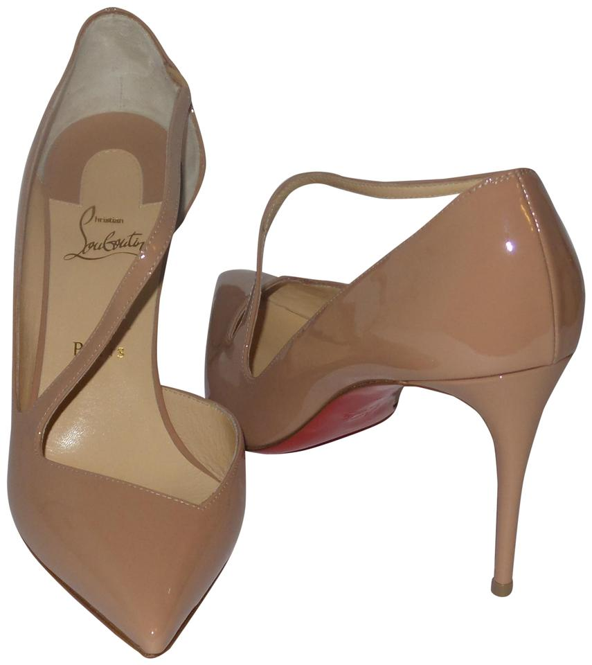 sports shoes cc752 ae0c9 Christian Louboutin Nude Jumping 85 Patent Leather Heels Pumps Size EU 41  (Approx. US 11) Regular (M, B) 11% off retail