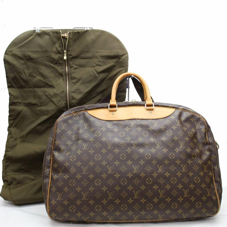 Louis Vuitton Alize Alize 2 Pouches L Keepall Neverfull Brown Travel Bag ... 153f10018f5c0