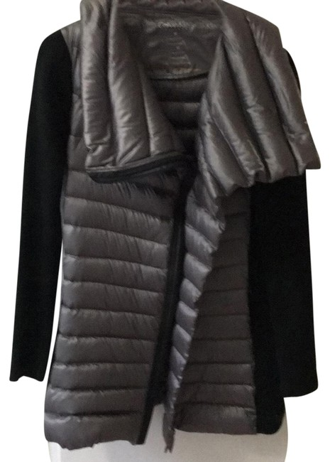 Item - Silver and Black Coat Size 8 (M)