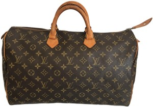 Louis Vuitton Speedy Speedy 40 Neverfull Keepall Tote in Brown