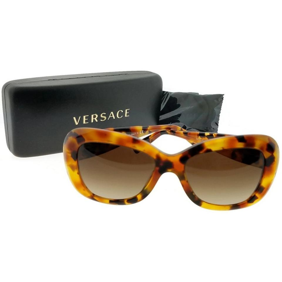 ff434f96f5be1 Versace VE4317-260-13-54 Butterfly Womens Tortoise Frame Brown Lens  Sunglasses Image ...