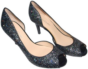 Kelly & Katie Prom Date Entrance Black with Glitter Pumps